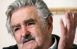"""Let's not forget that the only way out for Paraguay is through the Parana River and the River Plate"" said Mujica"