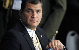 CAN and Mercosur should converge to Unasur, suggested the Ecuadorean president
