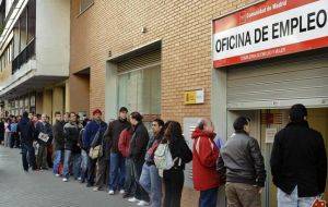 However under 25 unemployment in Spain remains dramatic: 56%