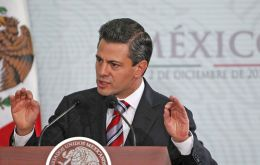 Peña Nieto expects the initiative to be debated in mid August during a special legislative period