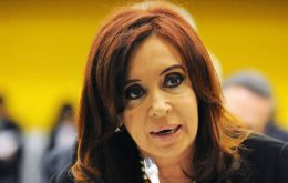 "Last year CFK displayed her speech ""talent"" at the C24, next week at the Security Council"