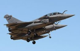 Sales of the fighter Rafale are expected to help with procurement costs