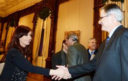 Last month Cristina Fernandez signed a controversial 'tailor-made' decree which openly favours US oil company Chevron