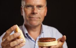 The burger is the result of years of research by Dutch scientist Mark Post (Pic PA)