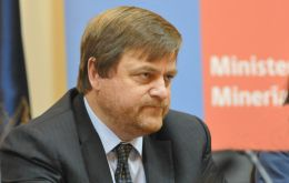 Minister de Solminihac said copper investments will have the 'lion's share'