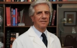 An oncologist by training Vazquez was mayor of Montevideo (1990/95) and in 2005/2010 president
