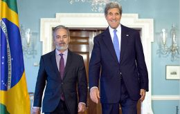 Antonio Patriota and John Kerry, a much expected meeting