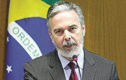 Antonio Patriota explained Brazil's position to the Financial Times