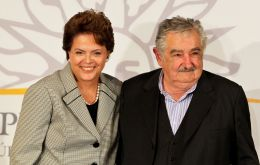 Rousseff and Mujica have been holding talks on the issue hoping to open the trade horizon