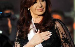 No way Cristina Fernandez can look back and lean on the 41% of 2011