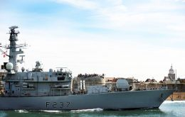 Several RN vessels en route to Cougar 13 deployment in the Mediterranean are expected to call in Gibraltar