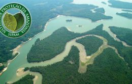The resources rich Amazon basin has influence over most of South America