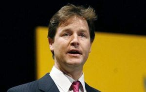 Deputy PM Nick Clegg is scheduled to talk to his counterpart Soraya Saenz de Santamaria