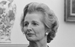 The documents only recently released showing Thatcher's intransigence in the sovereignty issue