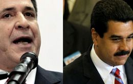 President Cartes and his Venezuela peer Maduro will be attending the same event in Suriname