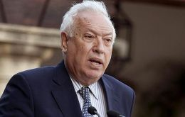 Garcia-Margallo insists with the conflict but Spanish opposition say it is a smoke-screen for a major corruption scandal in the ruling party