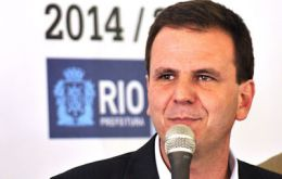"""Rio will have to look after the legacy of Olympics infrastructure"", said Mayor Paes"