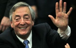 One of the dams will be named after President Nestor Kirchner