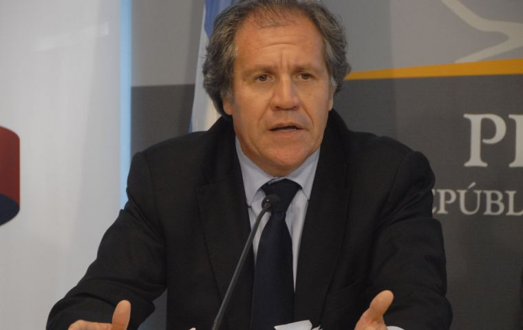 Almagro admitted however that he has instructions for Uruguay to join the Alliance during the current