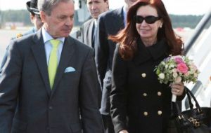 The Argentine president said 'vulture funds take advantage of everyone""