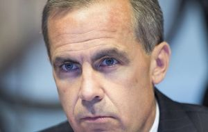 Markets testing Governor Mark Carney's forward guidance policy