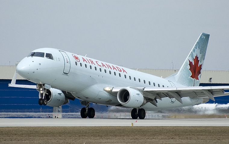 Sky Regional operates mainly short-haul routes in Toronto, Montreal and northeast US
