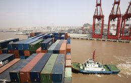 The numbers come just days after China reported a strong growth in exports during August.