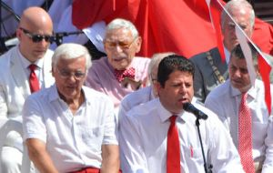 "Picardo: ""this party has just begun"" says addressing the crowd (gibnews.net)"
