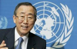 Ban Ki-moon said recovering the ozone layer is an example of international cooperation
