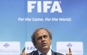 Platini will announce UEFA's official position next Friday