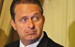 Pernambuco governor Eduardo Campos was the most highly rated in a recent poll