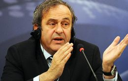 """I would say that the ball is at the feet of the president of FIFA"", said UEFA president Platini"