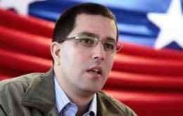 Vice-president Arreaza has blamed unethical merchants for hoarding products in order to make quick profits