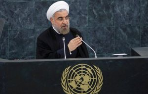 "President Hassan Rouhani: ""Iran is no threat to the world"""