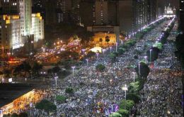 Millions of Brazilians turned to the streets during June to protest corruption