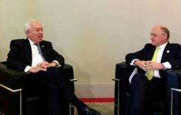 The agreement was reached by Garcia-Margallo and Timerman and on the sidelines of the UN assembly