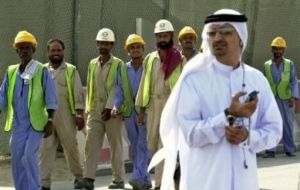 """There is no excuse for any worker in Qatar to be treated in this manner"""