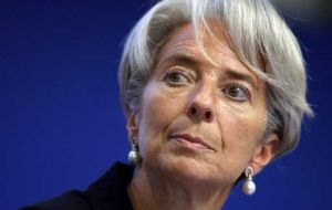 Lagarde's speech was on looking ahead to a decade of challenges for the world economy