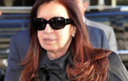 The Argentine president was diagnosed 'chronic subdural collection' following a mild head injury in August