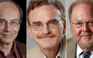 Schekman, Rothman and Suedhoff are all professors at US universities