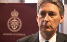 """The security of the Scottish people is too important to be ducked and dodged"" said Defense Secretary Hammond"
