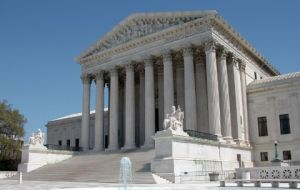 US Supreme Court is trying to set guidelines on whether multinational corporations can be sued in US courts for alleged human rights abuses abroad.