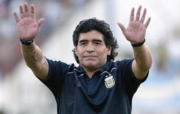 Maradona is still considered an idol in Napoli which he helped win two top league titles