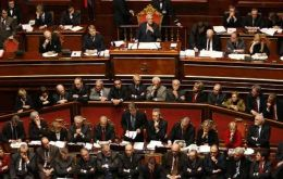 The Senate is dominated by Berlusconi opponents and is expected to vote to strip him of his seat