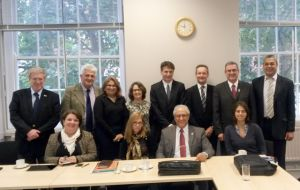 The British Science and Innovation Network is hosting the Brazilian delegation (Pic. D. Arruda)