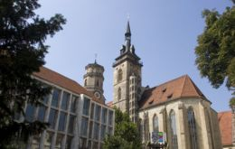 The German church levy was introduced in 1803 in compensation for the nationalization of religious property