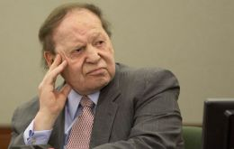 Conservative-leaning business mogul Sheldon Adelson, CEO of Las Vegas Sands, along with his wife Miriam, were the top public donors