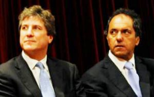 Boudou and Scioli trying to turn defeat into a result living up to Victory Front