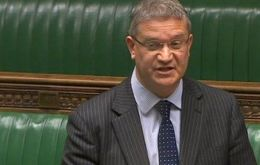 The Argentine government refuses to acknowledge the right of the Falkland Islanders to determine their own future, said MP Rosindell