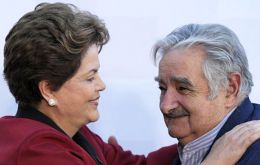 Mujica and Rousseff have a good personal relation and will have to think how to deal with eclectic Argentina